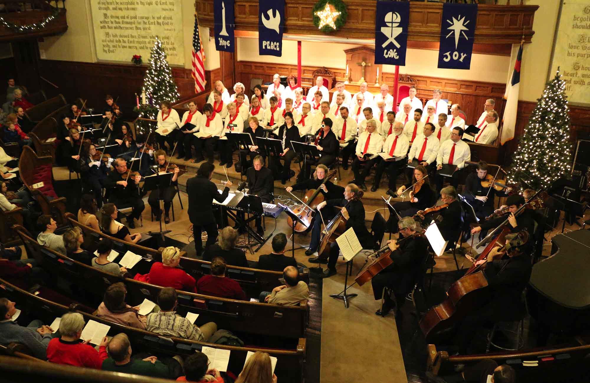 Heralding Christmas 2020, December 9 CHRISTMAS MESSIAH IN CORTLAND   Symphoria