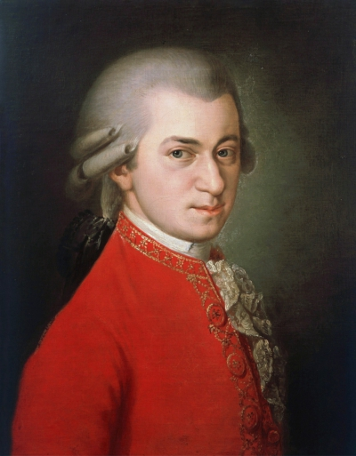 Image of Painting of Wolfgang Amadeus Mozart